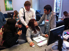 Students at Adobe 2011